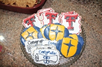 Jesuit Dallas and Texas Tech cookies