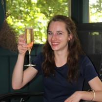 A toast to success!